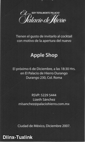 Apple Shop back