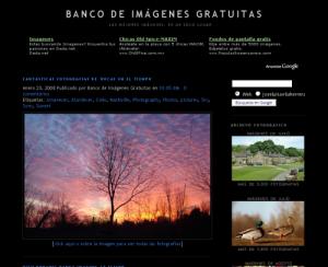Banco de  Imágenes gratuitas