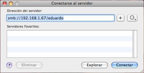 Coloca la IP y directorio quehayas especificado previamente