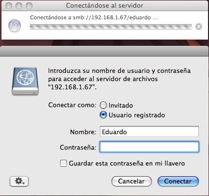 Autenticar conexión con Ubuntu
