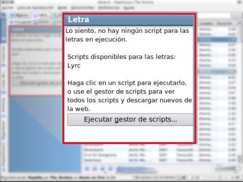 Script sin ejecutar