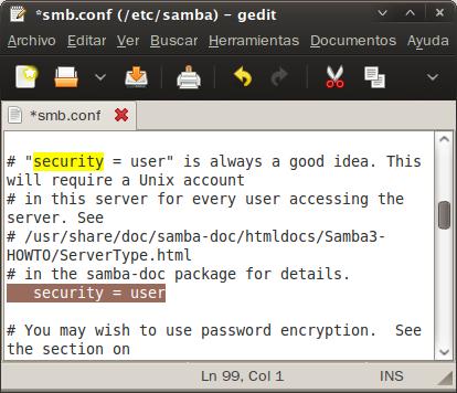 "Verificar  ""security"""