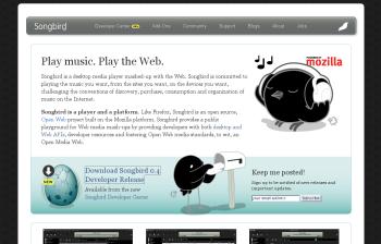 Songbird-official-site