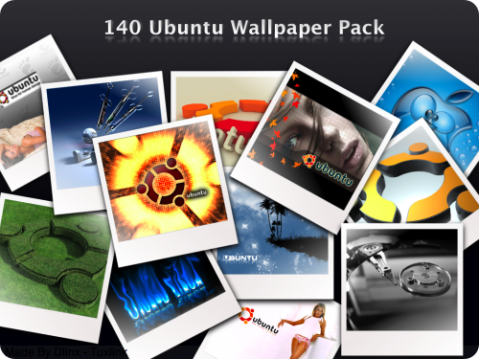 140 Ubuntu wallpaper pack