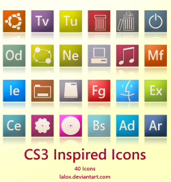 CS3 Inspired icons
