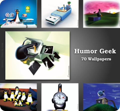 Humor Geek Wallpaper Pack