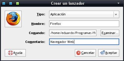 Lanzador de Firefox