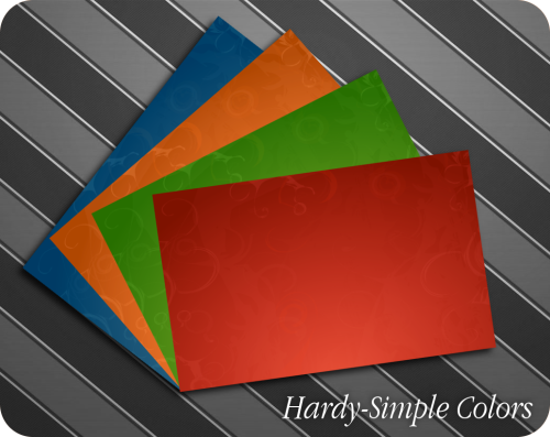 Hardy-Simple Colors
