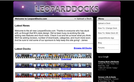 LeopardDocks