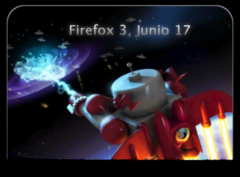 Firefox 3 el 17 de Junio