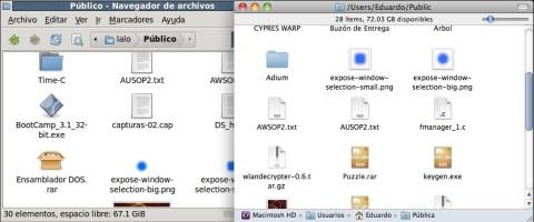 Compartiendoa archivos con Ubuntu